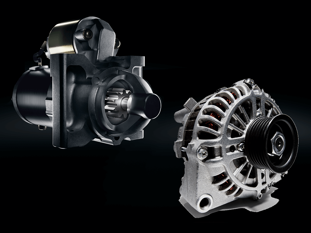 ACDelco Alternator and Starter CGI